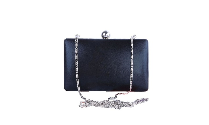 Women's Embossed PU Leather Evening Party Handbag Clutch