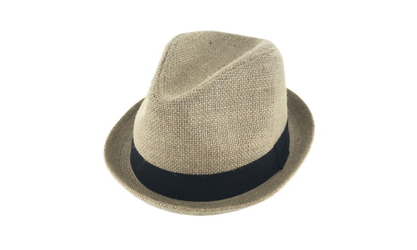 abbe56bca2 Faddism Unisex Ribbon Cuban Brim Fedora Straw Hat Model 204