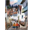 Jimenez 'Cuzco IV' Canvas Art