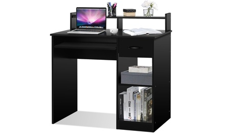 Computer Desk PC Laptop Table WorkStation Home Office Study Furniture w/ Drawer
