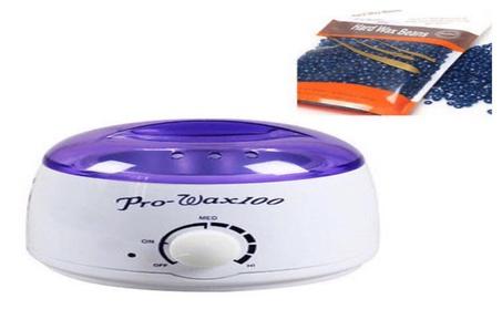 Depilatory Hard Wax Beans with Wax Warmer 4cb3b436-6022-44b5-97bc-ad77cb4d83bd