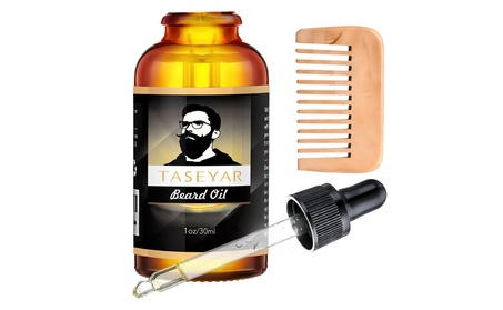30ml Beard Oil with Comb, Moustache Growing Oil Beard Shaping Tools 1a7f4d1e-45c0-40dd-bc92-634545cb8dfb