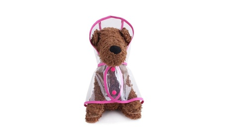 Waterproof Puppy Raincoat Transparent Pet Rainwear