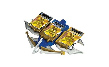Power Rangers Megaforce Snake Ax, Tiger Claw, and Shark Bowgun Battle 6d0ab793-01d6-4753-9606-7cad4a1a4484