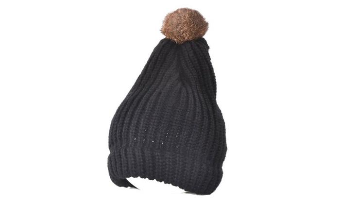 Women's None Casual Elastic Closure Solid Simple Woollen Hat