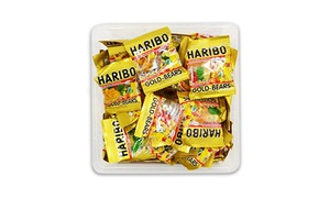 Haribo Gold-Bears/ Hapy Cola Minis 1 pound -  Approximately 38 individual packs