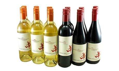 12 Mixed Bottles of Dancing Coyote Wine