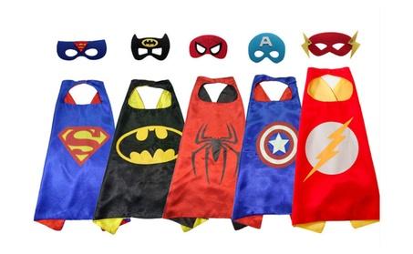 Child Superhero Cape and Mask a2854495-dd4e-44ee-879e-76eb589e0ca9