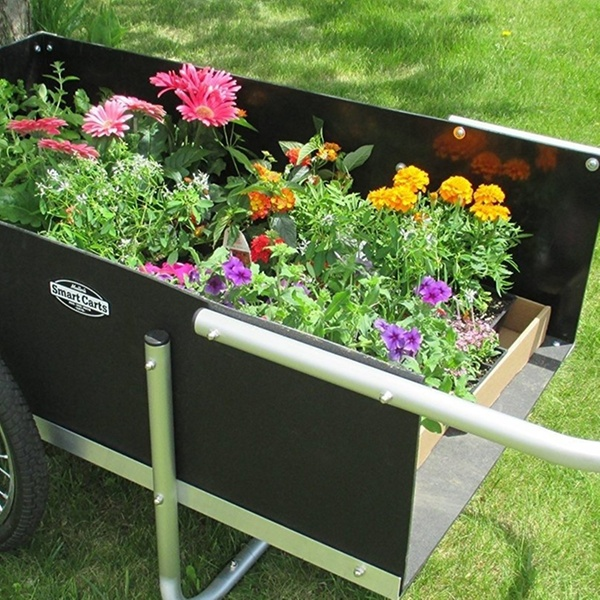 Smart Carts 20 in  Ultimate Gardener Cart High Density Polyethylene