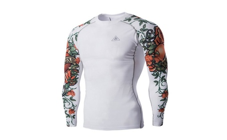 Men's Compression Long Sleeves Activewear Sports T shirt a7b0c99b-a21a-40bb-86fc-a37b36ec36c2