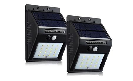 Solar Powered 16 LED Outdoor Light - Wireless - Security Motion Sensor 117e003b-c216-43c6-83dc-1272eac11186