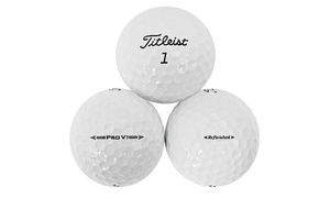 Titleist Prov1Golf Balls with Reusable Bucket (50-Pack; Refurbished)