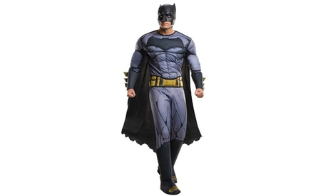 Batman v Superman: - Deluxe Batman Costume For Men 2ed6c448-e430-4904-bc37-d70687764bfe