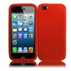 Insten For Apple Iphone Se 5s 5 Soft Silicone Rubber Gel Soft Case Red