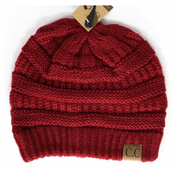 4f763b0732516 Crane Clothing Co. Winter Hat CC Beanie Solid Colors Women Unisex Hat