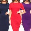 StyleCladWomen'sBodyconMidiDress(Plus Sizes Available)