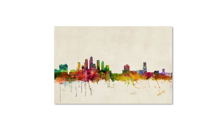Michael tompsett 39 tampa florida 39 canvas art groupon for Michaels craft store tampa