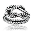 Brass Love Knot Rope Design Ring