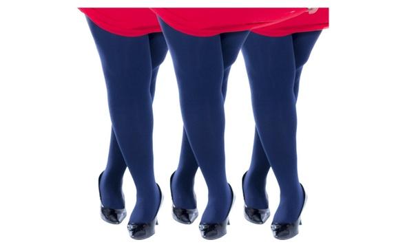 979b4cd2085 Zaftig Womens Plus Size Thermal Tights