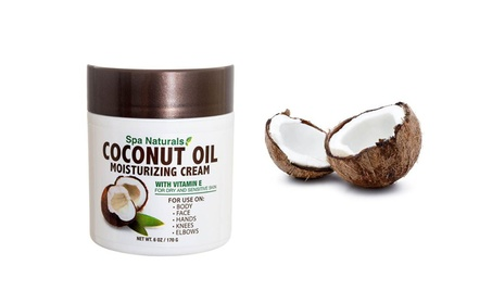 Spa Naturals Coconut Oil Moisturizing Cream For Skin Is Dry