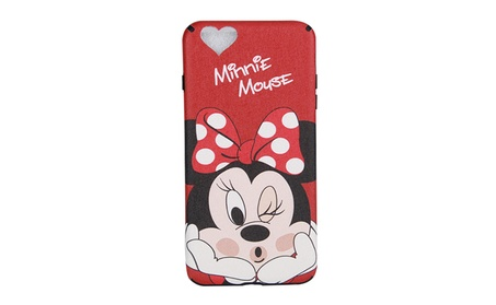 Soft Silicone iphone 6/6plus/7/7plus Case Cute Minnie Phone Back Shell 2bc5c55c-22f0-4d58-b69d-e647542af98b