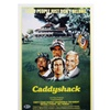 Chevy Chase Signed 12x18 Caddyshack Mini Movie Poster w/ Beckett COA