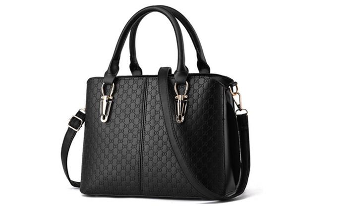 Women Top Handle Satchel Handbags Tote Purse | Groupon