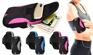 Double Pouch Armband - iPhone 7/8, 7/8 Plus/ XS/ XR/ XS Max or Samsung