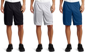 Champion Men's Lightweight Mesh Shorts with Pockets (2-Pack)