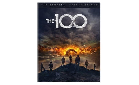 The 100 The Complete Fourth Season 4 Complete Dvd Box Set 3 Disc New c9f02e06-9a44-49f3-9c11-89442d192be7
