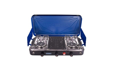 Stansport Outfitter Series 2-Burner and Grill Propane Stove 0bbdfaaa-29aa-405f-8744-9b5468491fca