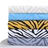 Superior 1800 Series Brushed Microfiber Animal Print Duvet Cover Set