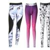 Women Floral Print Streching Light Elastic Comfort Leggings Yoga Pant