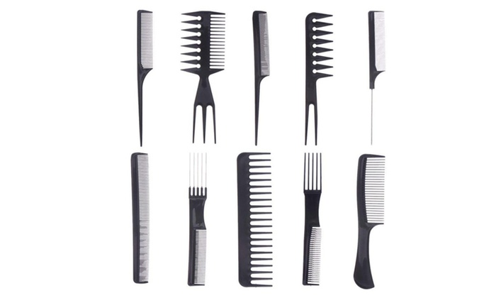 Premium Professional Combs Hair Styling Hairdresser Barbers 10pc