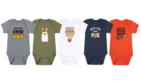 Instant Message: Infants Fall and Thanksgiving Body Suits