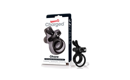 Charged Ohare Rechargeable Silicone Waterproof Rabbit C Ring cdc0320e-69b6-4041-9f56-05c5604a85e0