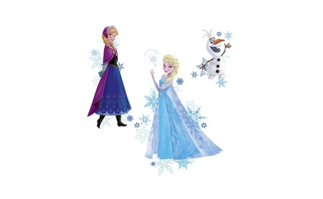 Roommates Decor Frozen Elsa, Anna And Olaf Peel And Stick Wall Decals b948c36e-0a91-490d-971a-8efccbc00c79
