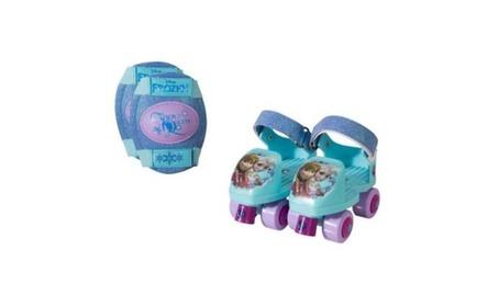 Bravo Sports 160955 Frozen Glitter Junior Roller Skates with Knee Pads e73e1563-f77d-4a97-9470-043f4d989b27