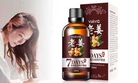 Ginger Essential Oil Ginger Hair Growth Serum Hair Loss Treatement Hair Regrowth