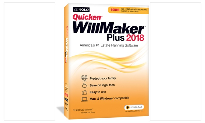Quicken willmaker premium home family 2018 get it together ebook fandeluxe Gallery