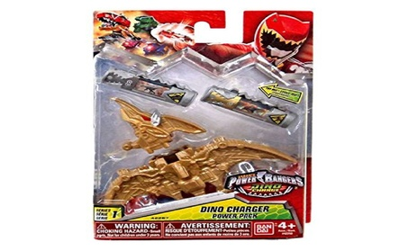 Power Rangers Dino Super Charge Series 1 Gold Dino Charger Power Pack a2de6d55-95f7-46ea-81c7-6806c51c47fb