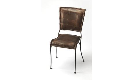 Butler Maverick Iron & Leather Side Chair 7a9124f6-a029-4226-9627-b82e06ac6c44