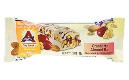 Atkins 467563 Atkins Day Break Bar Cranberry Almond - 5 Bars