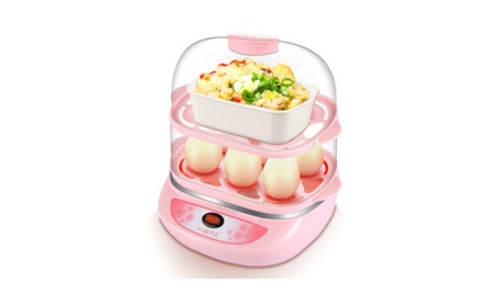 Two Layers 12Eggs Boiler Cooker Steamer Multi-function Electric eae71caa-e183-48dc-be27-dee0a8653e45