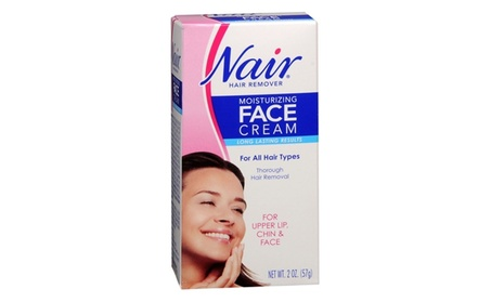 Nair W-SC-2012 Moisturizing Face Cream Hair Remover - 2 oz. 8d32789c-3db7-47ac-abfa-ebdefcdc5534