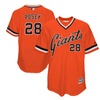 Mens Giants Buster Posey Orange 1978 Turn Back The Clock Player Jersey
