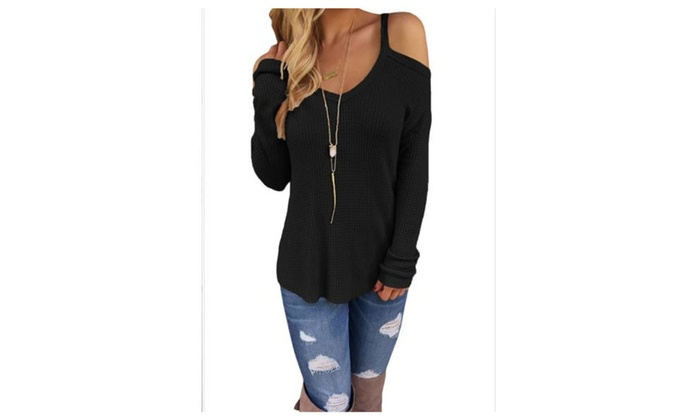 Women's Long Sleeve Regular Fit Fashion Pullovers Sweater
