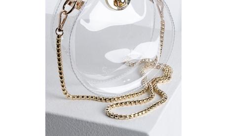 Make Yourself Clear Plastic Purse (Goods Women's Fashion Accessories Handbags) photo