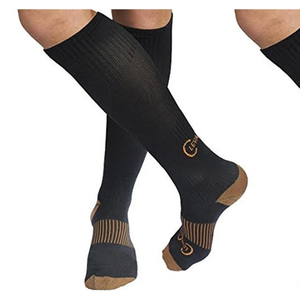aeeeff0aed 1st Shop Top Best New Premium Thera Copper -Infused Compression Socks |  Groupon