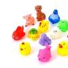 13Pcs/Set Cute Soft Rubber Sound Baby Animals Wash Bath Toys for Kids